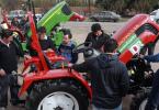 Entrega de maquinas agrícolas en San Rafael